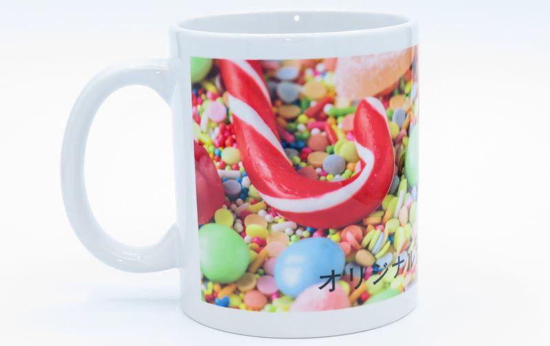 オリジナルプリントで作ったマグカップ(小)