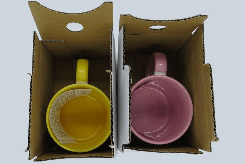ビスタプリントマグカップ箱の中